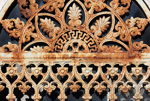 Portugal, Lisbon, Cemetary, Grave, Family Grave, Gate