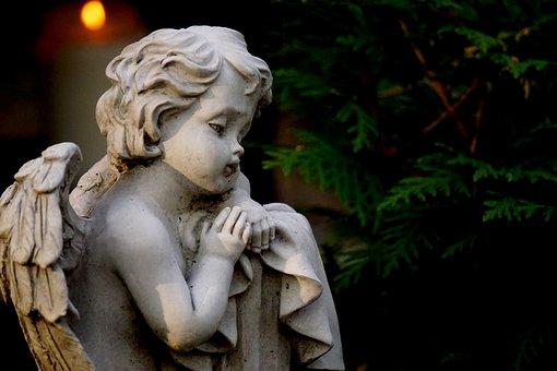 Angel, Grave Of Angels, Abendstimmung, Mourning