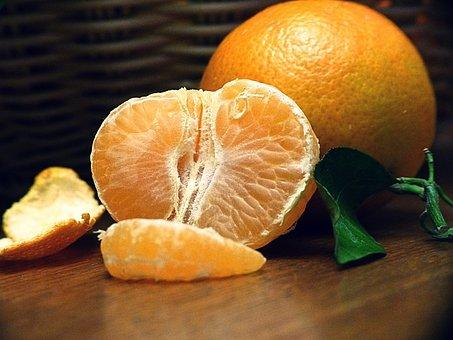 Mandarin, Fruit, Tropical Fruit, Healthy, Eat