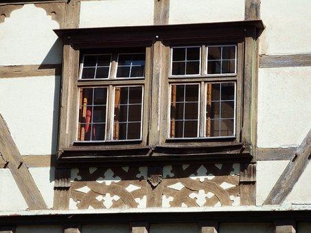 Window, Truss, Dinosaur, Wood, Glass, Building, Home