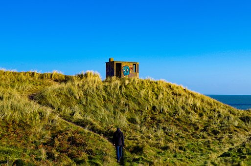 Solitude, Ireland, Landscape, Character, Nature, Only