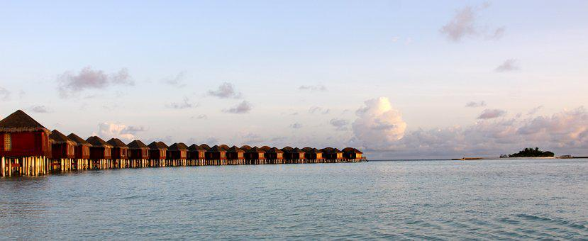 Island Resort, Maldives, Vacation, Beach, Island, Ocean