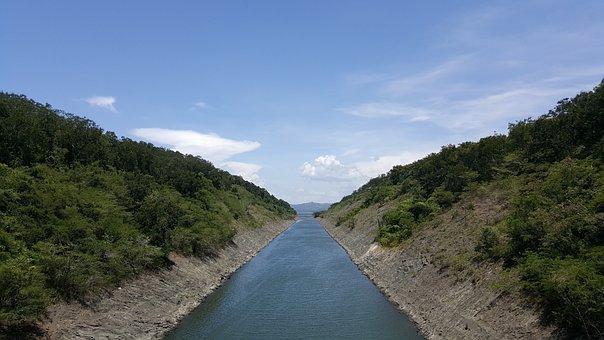 River, Presa, La Vega, Lake, Summer, Reservoir