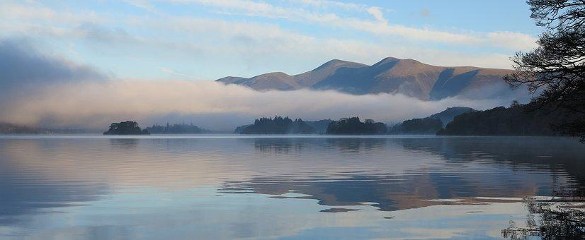 Derwent Water, Cumbria, Lake, District, England