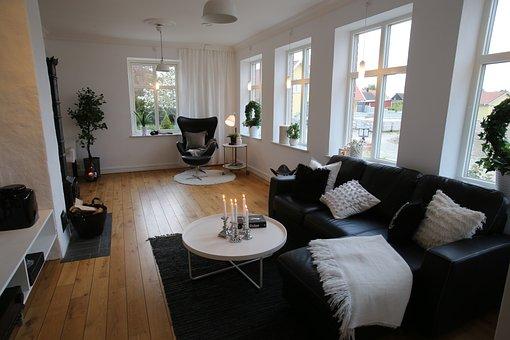 Livingroom, Scandinavian Design, Swedish Design