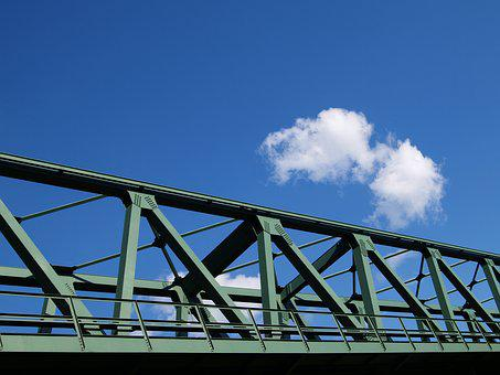 Bridge, Metal, Architecture, Construction
