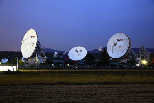Jinshan, Earth Stations, Satellite