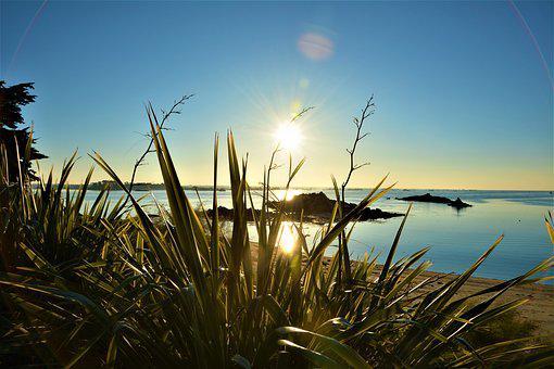 France, Isle Of Batz, Sea, Brittany
