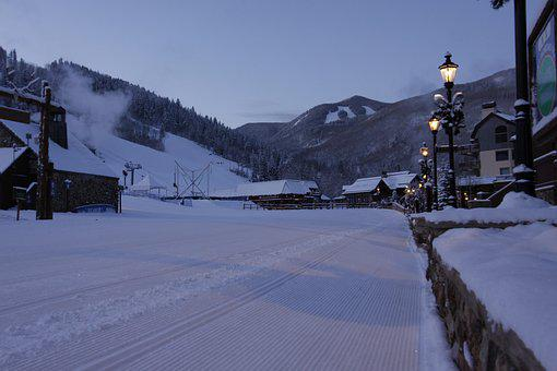 Beaver Creek, Ski, Snow, Winter, Colorado, Skiing