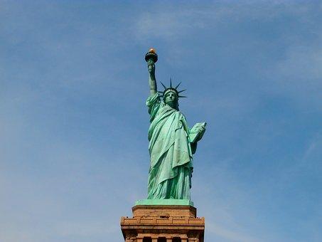 Statue Of Liberty, Sky, Symbol, New York