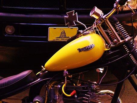 Triumph, Chopper, Tank