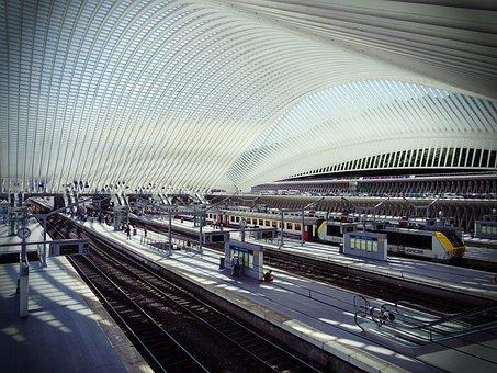 Cork, Station, Architecture, Futuristic, Train, Sncb