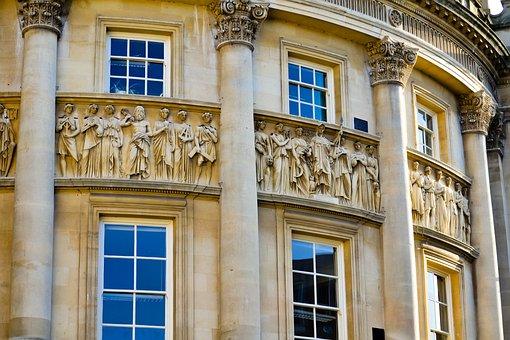 Bath, Avon, England, Uk, Somerset, Architecture, Travel