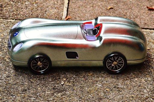 Auto, Silver, Sheet, Box, Racing Car, Storage