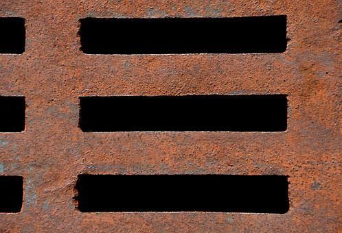 Stainless, Rust Texture, Background, Graphic, Grid