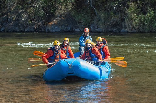 Rafting, Raft, Boat, Boating, People, Adventure, Sport