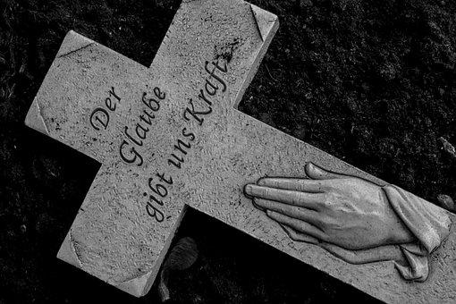 Cross, Grave, Grabschmuck, Dead, Death, Cemetery