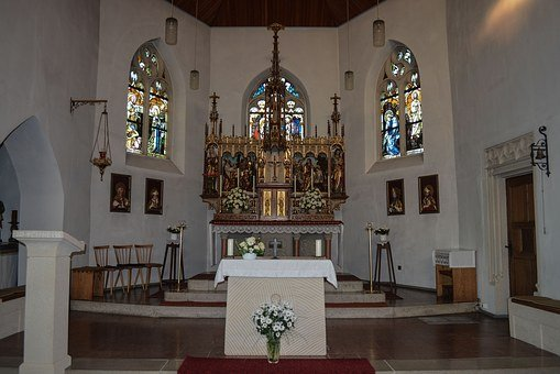 Church, Nave, Architecture, Christianity, Christian