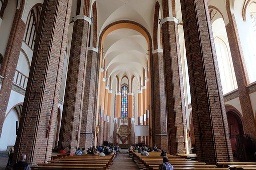 Church, Stettin, Pray, Altar, Faith, Religion