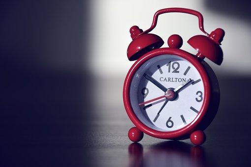 Alarm Clock, Clock, Time, Minute, Hour, Arouse, Bimmeln