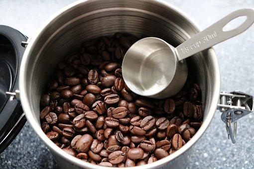 Coffee Beans, Coffee, Coffee Tin, Aroma, Cafe, Caffeine