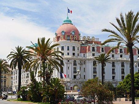 Nice, Hotel, Famous, Côte D ' Azur, Vieux, Le Negresco