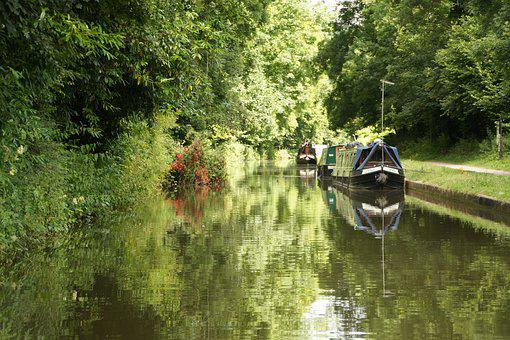 Canal Boat, Canal Boat Holiday, Knoweth Avon, England