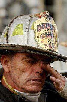Fireman, Fire, Firefighter, 9 11, 11 September 2001