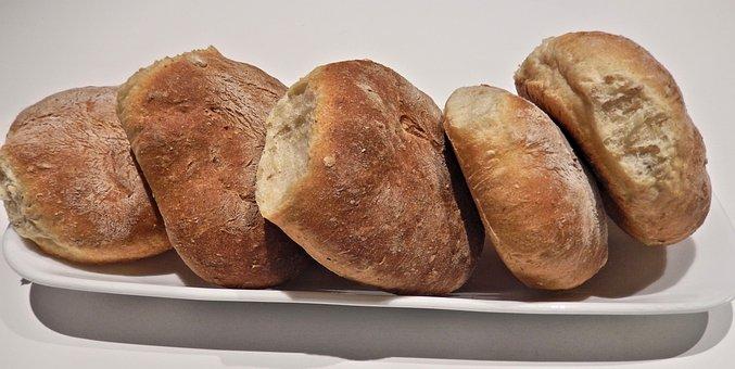Bread, Corn, Oats, Flax, Grains
