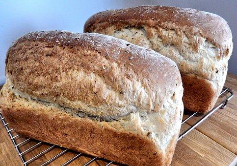 Bread, Oats, Flax, Corn, Multi Grain