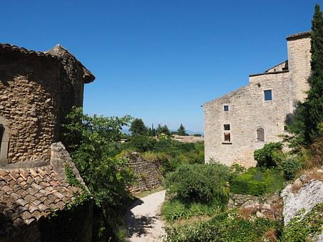 Village, France, Artists Village, Provence