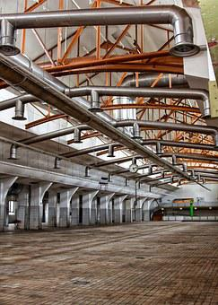 Industry, Hall, Ventilation, Butter Factory, Rama