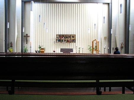 Church, Church Room, Interior, Triptych, Tabernacle