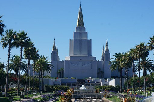 Lds, Temple, Mormon, Church, Architecture, Spiritual
