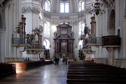 Salzburg Cathedral, Church, Nave, Architecture