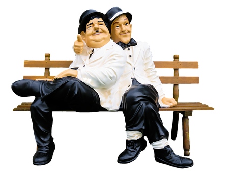 Figures, Thick And Stupid, Stan Laurel, Oliver Hardy