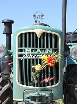 One-acre Diesel, Historically, Tractor, Tractors