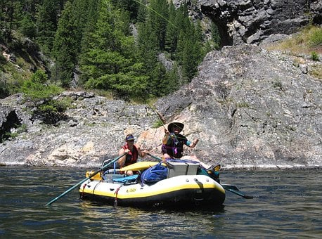Rafting, Salmon, Fly Fishing, Trout