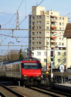 Railway, Intercity, Gateway, Amriswil, Romanshorn Brig