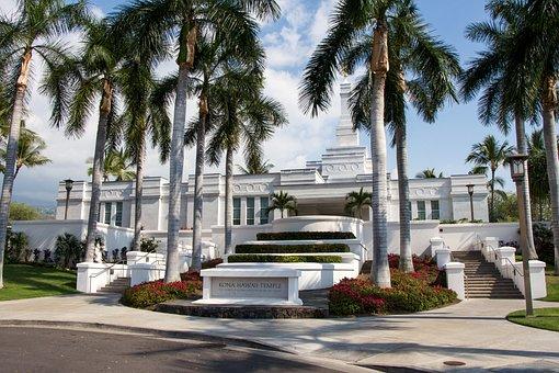 Kona Hawaii Lds Temple, Architecture, Religion