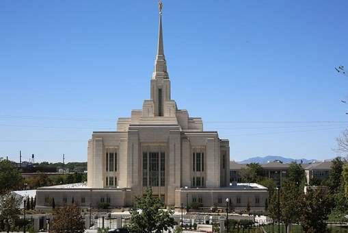 Salt Lake City, Church, Utah, Landmark, Religious