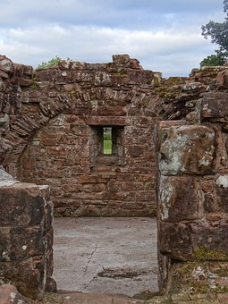 Ruin, Scotland, Old Masonry, Church, Cathedral