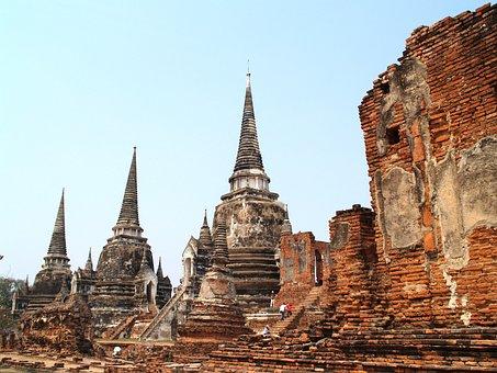 Ayutthaya, Thailand, Ethnicity, Sculpture, Oriental