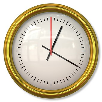 Clock, Time, Minute, Hour, Second, Time Clock, Face