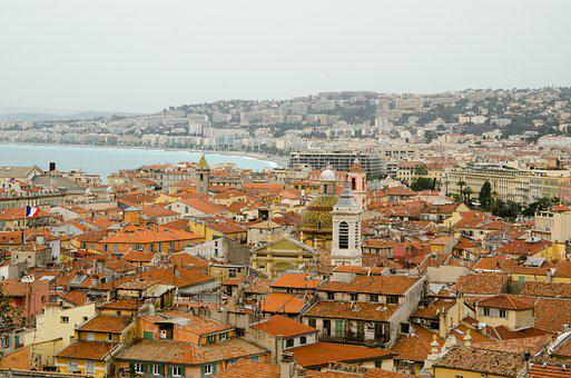Nice, France, South Of France, Côte D ' Azur, City View