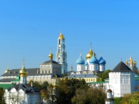 Sergiev Posad, Laurel, Temple, Church, Christian Church