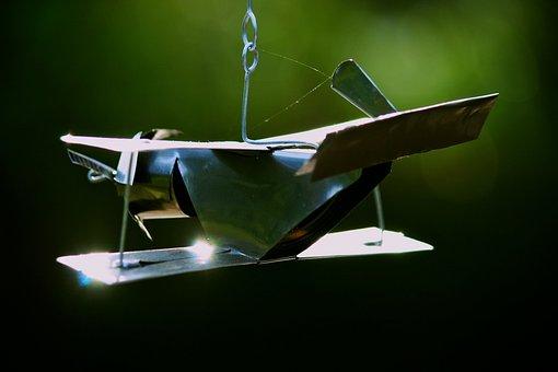 Toy Plane, Tin Plane, Tin Craft