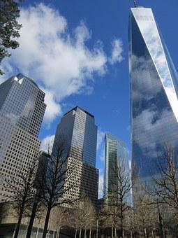 Ground Zero, Memorial, 9 11, Manhattan, New, York