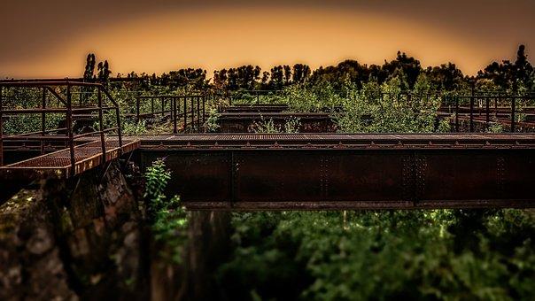 Coal, Bunker, Vintage