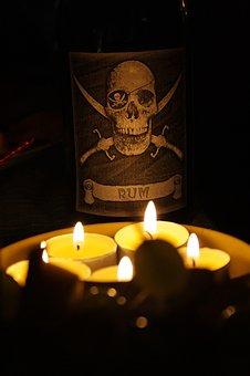 Pirates Of The, Candle, Pirate Treasure, Romance